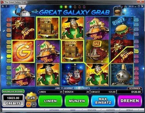Great Galaxy Crab Gewinn
