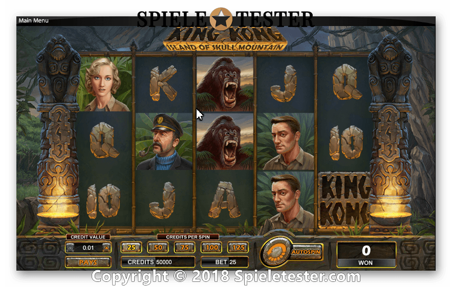 Kingo Kong Spielautomat