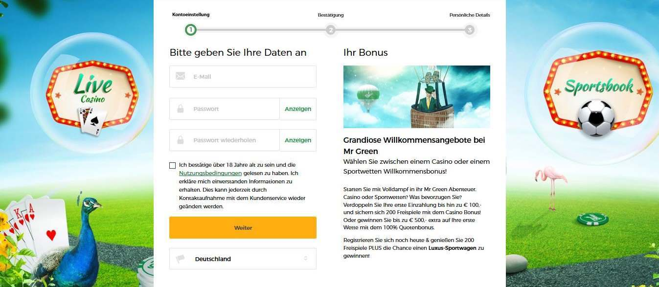 hr. grøn bonusregistrering