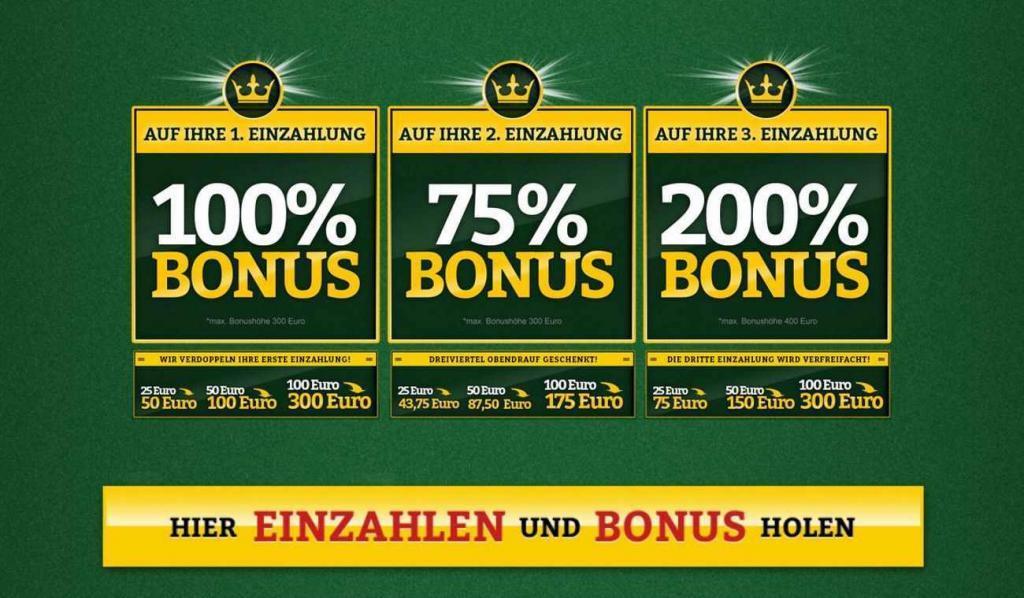 onlinecasino deutschland willkommensbonus