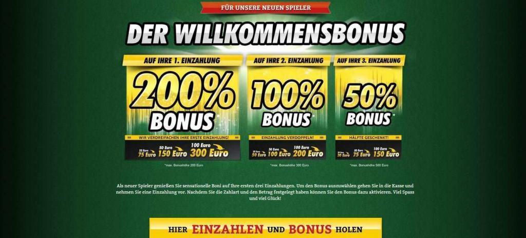 OnlineCasino.de Bonus