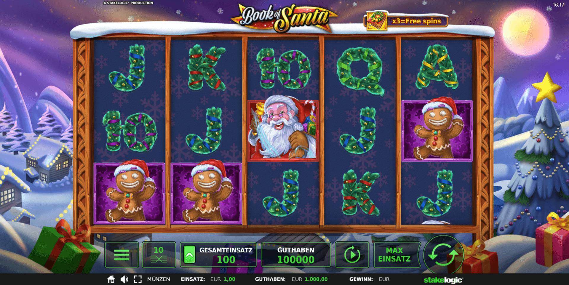 Book of Santa online