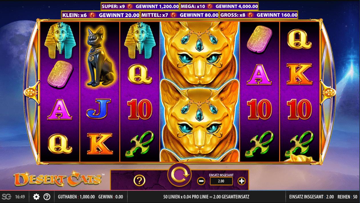 Desert Cats online