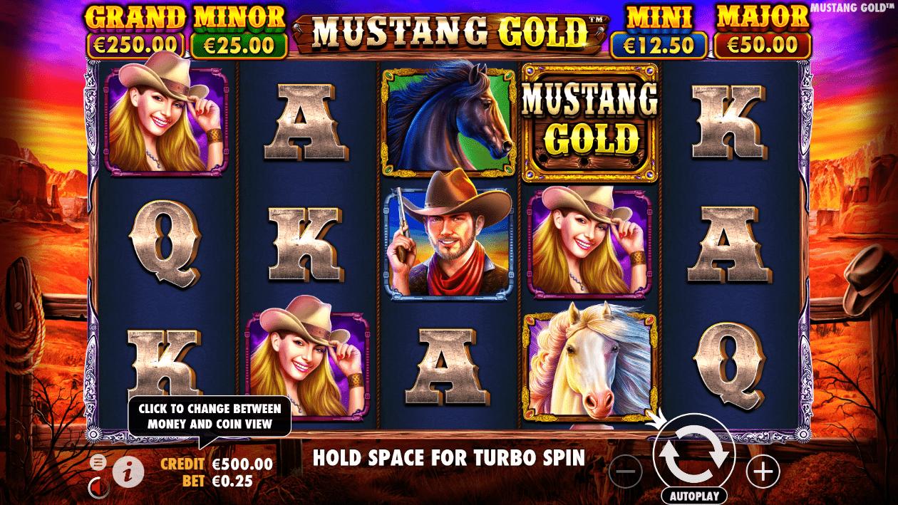 Mustang Gold online