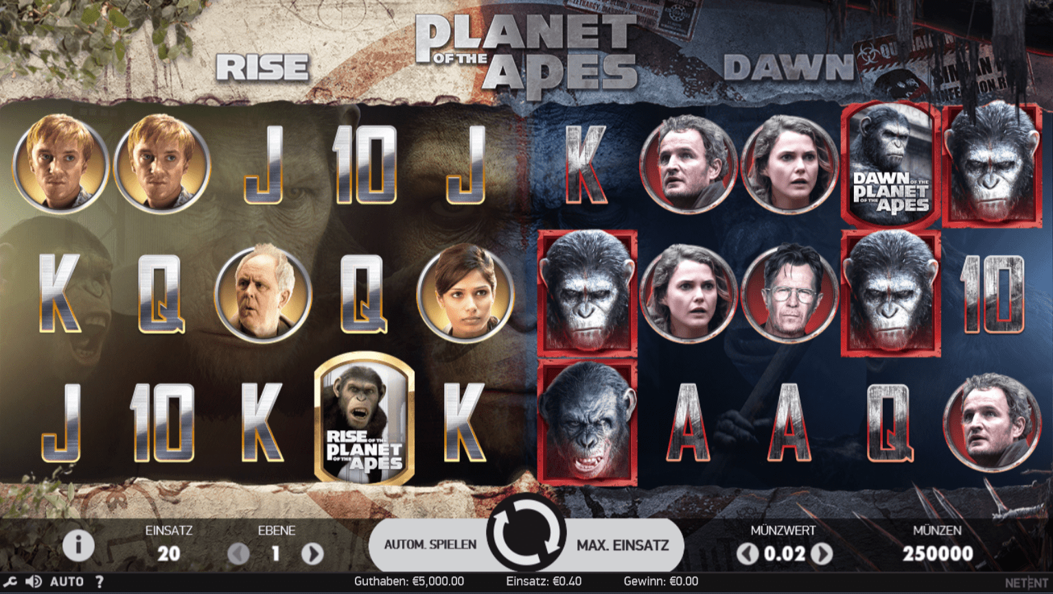 Planet of the Apes kostenlos spielebn - Planet of the Apes