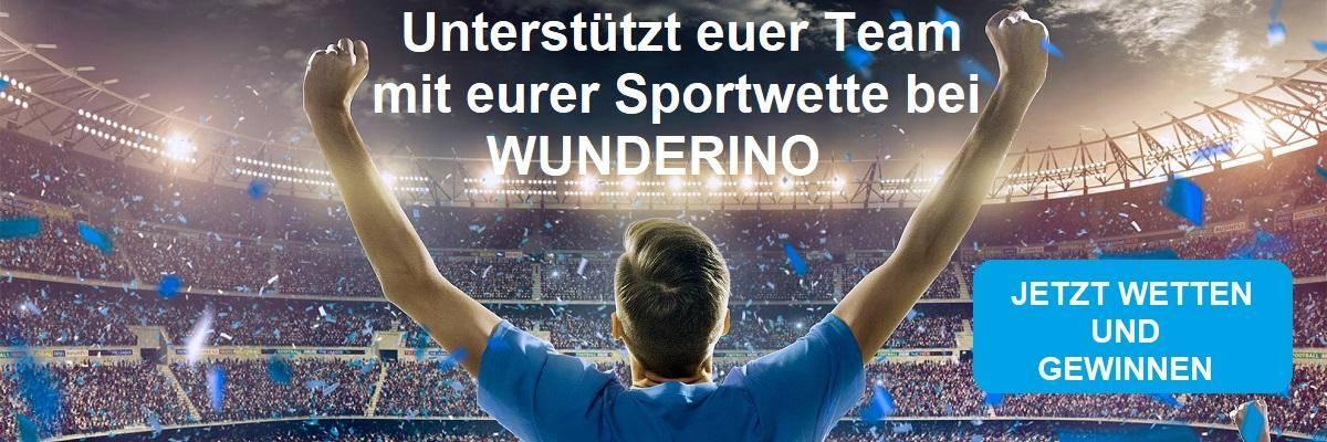 Wunderino sportwette