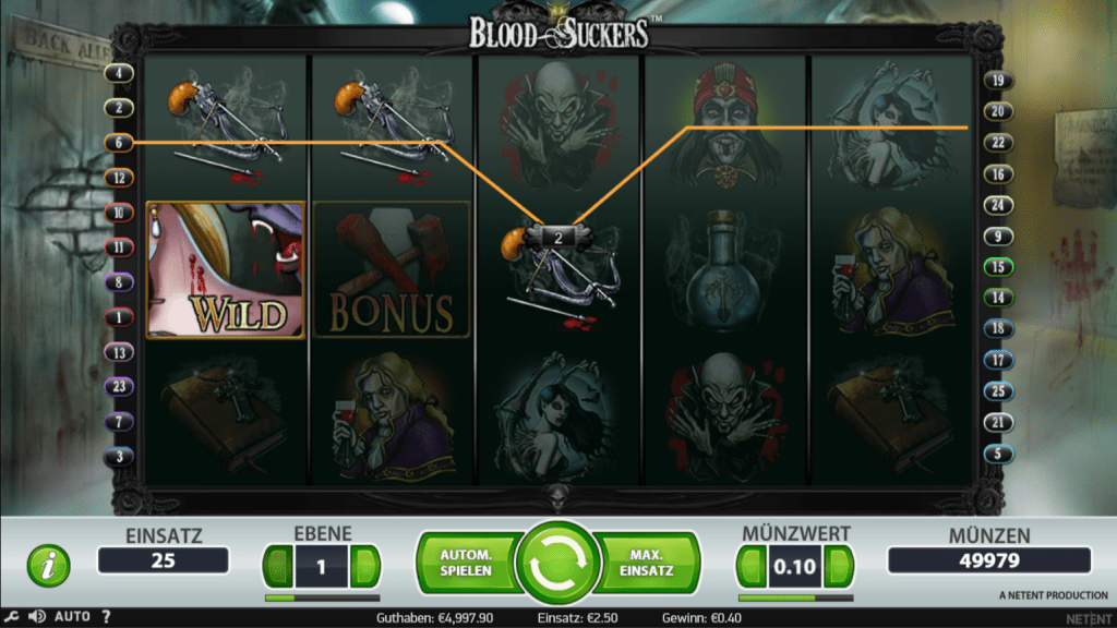 Blood Suckers kostenlos spielen