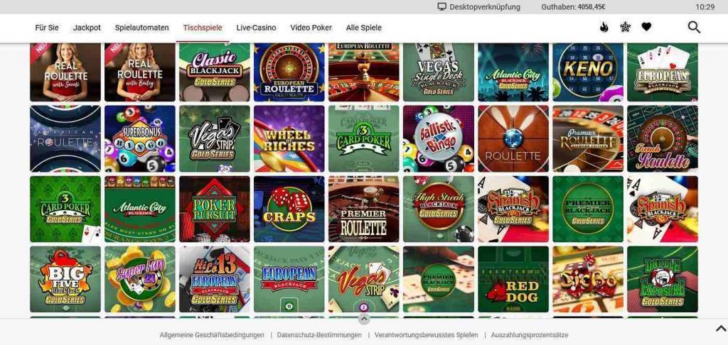Platinum Play Tischspiele - Platinum Play