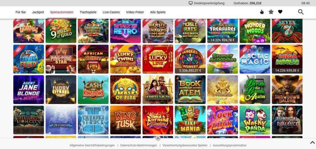 Ruby Fortune Spielautomaten