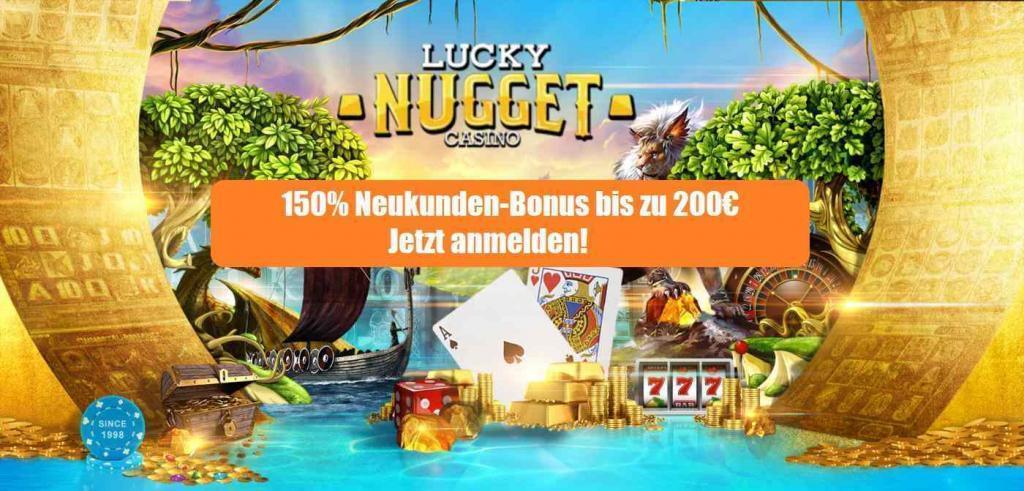 Lucky Nugget Neukundenbonus