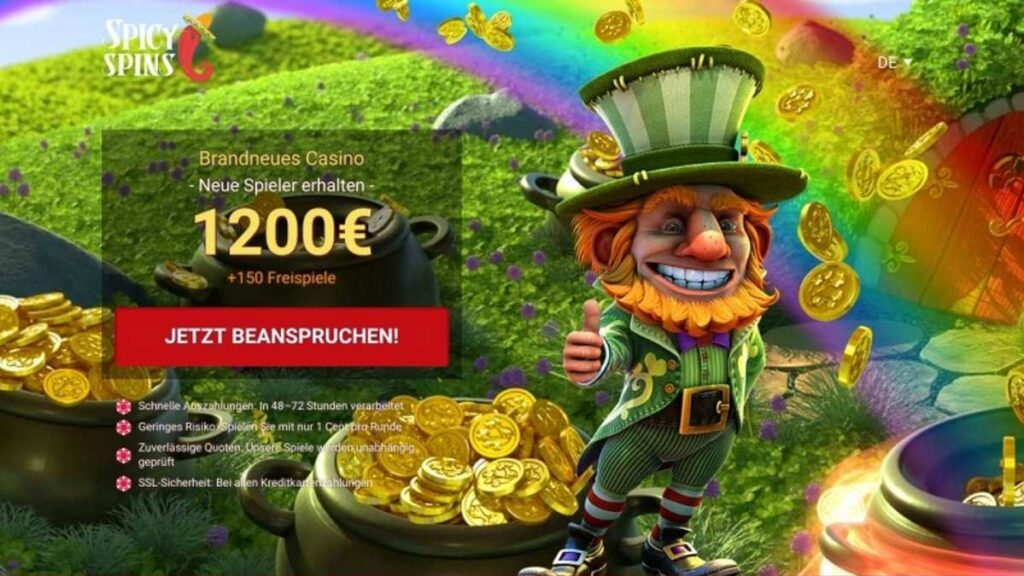 spicy spins bonus - Fiery hot € 1200 bonus + 150 FS están disponibles en Spicy Spins