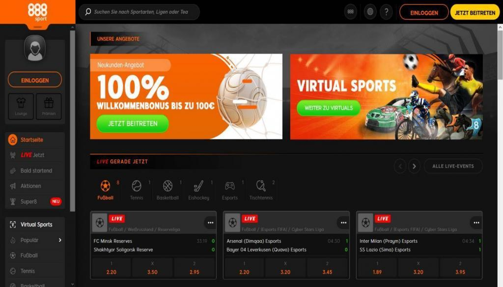 Sportwetten Test 888 - Online casino test - which one is the best in 2021?