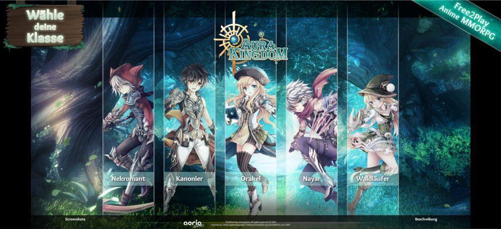 aura kingdom - Rollspelstest online