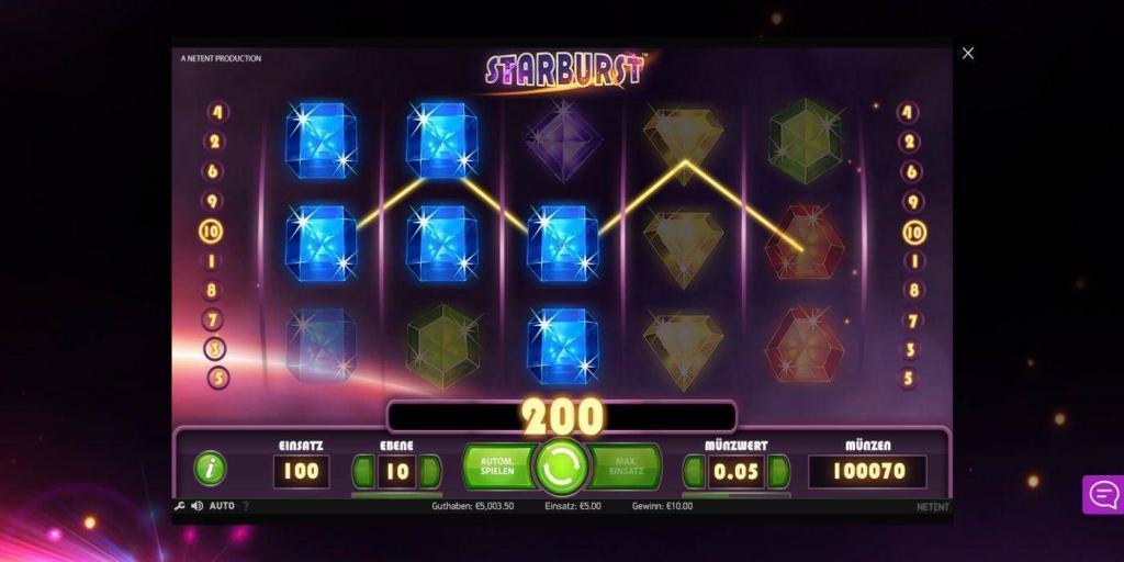 starburst - Online casino test - which one is the best in 2021?